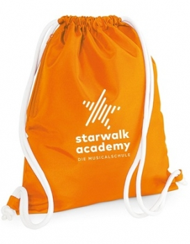 Gymbag Starwalk Academy orange