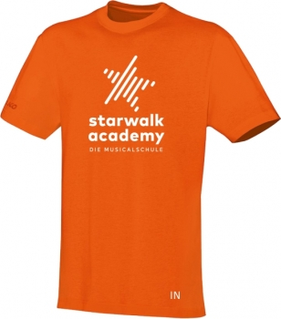 "T-Shirt ""Starwalk Academy"" (orange)"