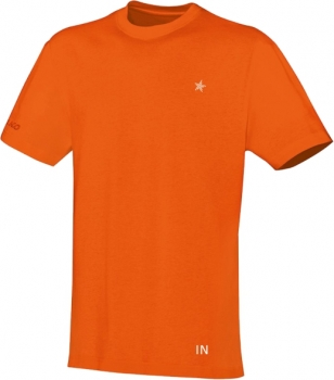 "T-Shirt ""STAR WALKING"" (orange)"