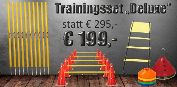 "Trainingsset ""Deluxe"" 28-teilig"